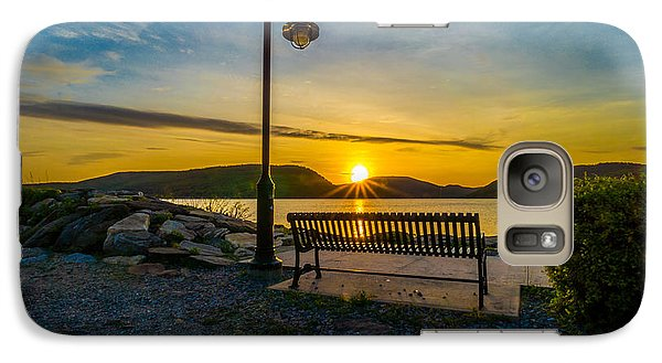 Galaxy Case featuring the photograph Sunset Along The Hudson Valley by Rafael Quirindongo