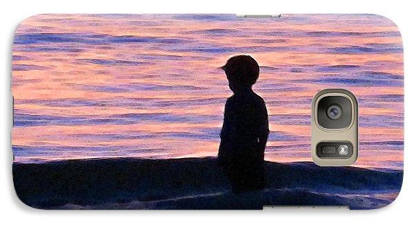 Sunset Art - Contemplation Galaxy S7 Case