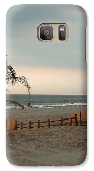 Galaxy Case featuring the photograph Sunset At Atlantic City by Margie Avellino
