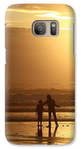 Galaxy Case featuring the photograph Sunset At Cannon by Debra Kaye McKrill