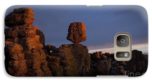 Galaxy Case featuring the photograph Sunset At Chiricahua by Keith Kapple