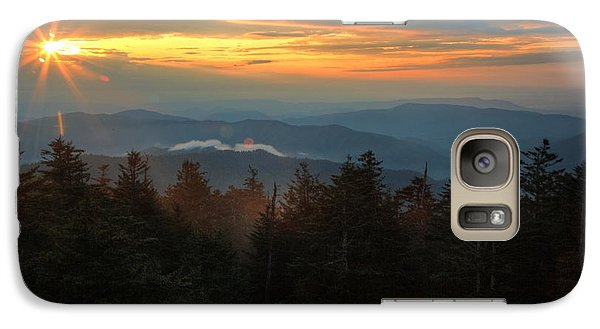 Galaxy Case featuring the photograph Sunset At Clingman's Dome by Coby Cooper