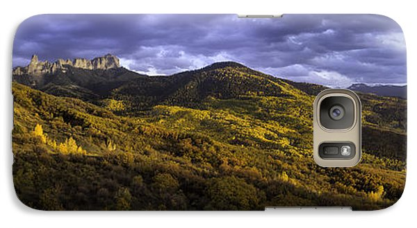 Galaxy Case featuring the photograph Sunset At Courthouse Mountain by Kristal Kraft