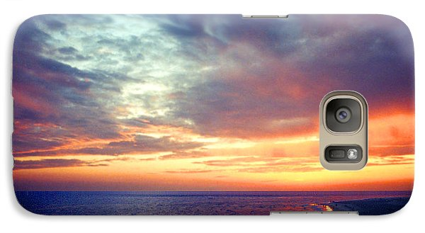 Galaxy Case featuring the photograph Sunset At Lido Key by Mariarosa Rockefeller
