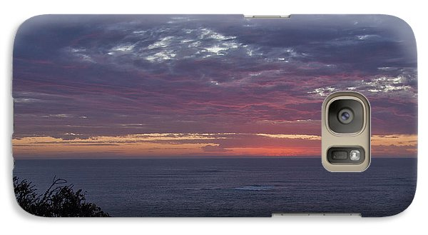 Galaxy Case featuring the digital art Sunset At Margaret River by Serene Maisey