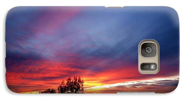 Galaxy Case featuring the photograph Sunset At Mount Carmel  Haifa 01 by Arik Baltinester