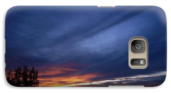 Galaxy Case featuring the photograph Sunset At Mount Carmel  Haifa by Arik Baltinester
