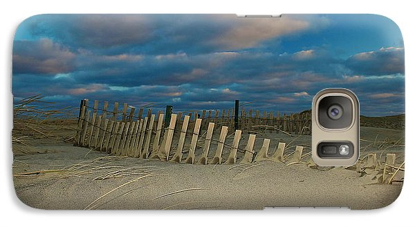 Galaxy Case featuring the photograph Sunset At Nauset Beach Cape Cod by Amazing Jules