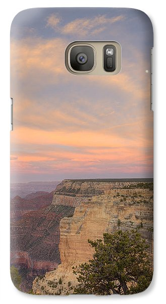 Galaxy Case featuring the photograph Sunset At Powell Point by Alan Vance Ley