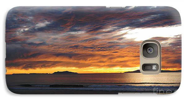 Galaxy Case featuring the photograph Sunset At The Shores by Janice Westerberg