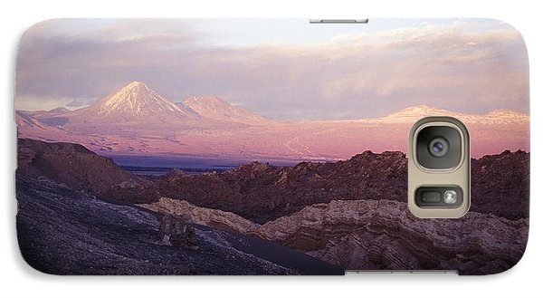 Galaxy Case featuring the photograph Sunset At The Valley Of The Moon by Lana Enderle