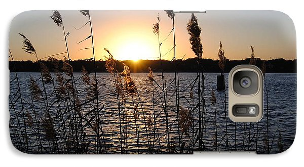 Galaxy Case featuring the photograph Sunset Aura by Michele Kaiser