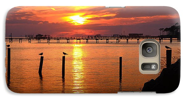 Galaxy Case featuring the photograph Sunset Bay by Renee Hardison