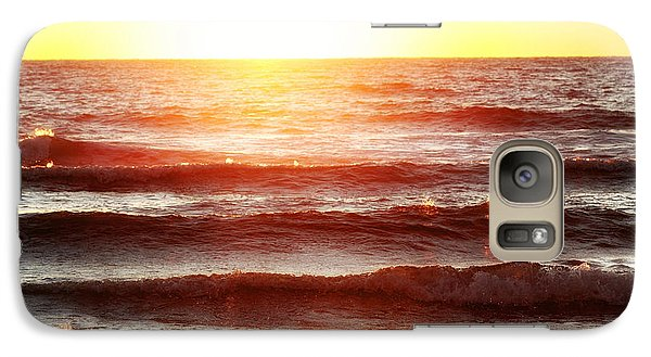 Sunset Beach Galaxy S7 Case