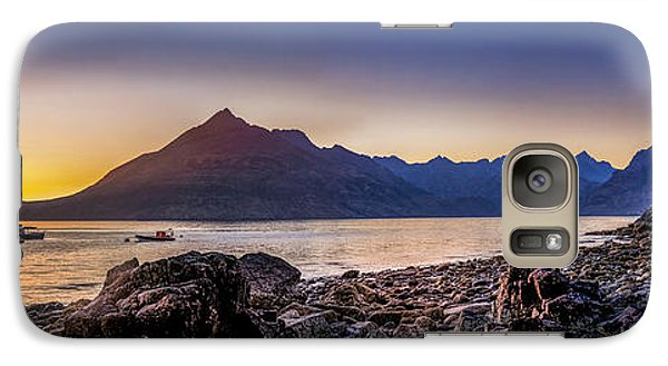 Sunset Black Cuillin Isle Of Skye Scotland Galaxy S7 Case