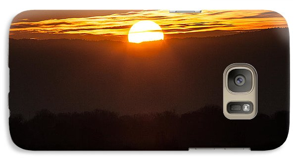 Galaxy Case featuring the photograph Sunset by Brian Williamson