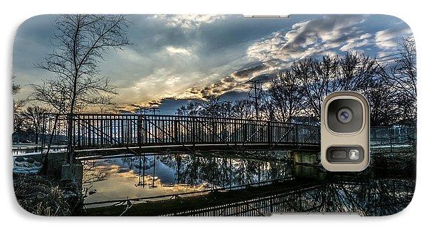 Sunset Bridge 2 Galaxy S7 Case