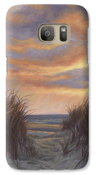 Sunset By The Beach Galaxy S7 Case