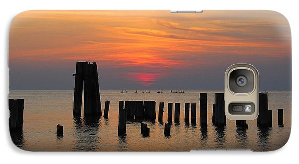 Galaxy Case featuring the photograph Sunset Cape Charles by Richard Reeve