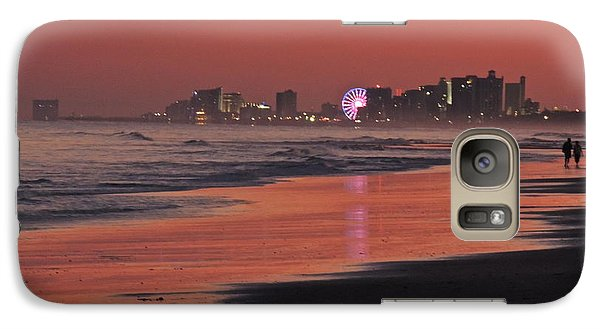 Galaxy Case featuring the photograph Sunset Contrast by Eve Spring