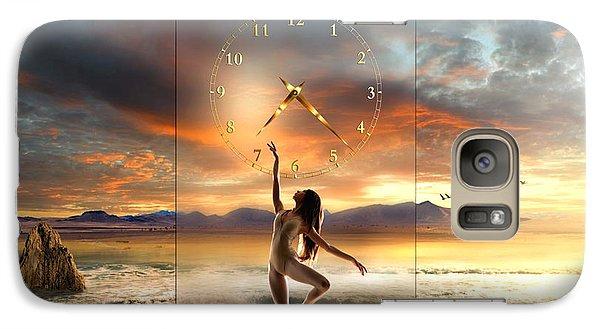 Galaxy Case featuring the digital art Sunset Dancing by Franziskus Pfleghart