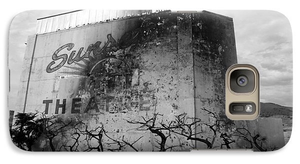 Galaxy Case featuring the photograph Sunset Drive-in by Tarey Potter