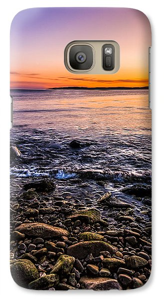 Sunset Photos Elgol Isle Of Skye Galaxy S7 Case