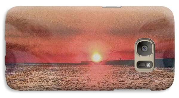 Galaxy Case featuring the photograph Sunset Eyes Inspirational Art By Saribelle Rodriguez by Saribelle Rodriguez
