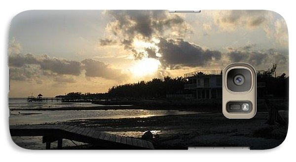 Galaxy Case featuring the photograph Sunset  - Florida Keys by Jean Marie Maggi