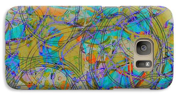 Galaxy Case featuring the digital art Sunset by Gabrielle Schertz