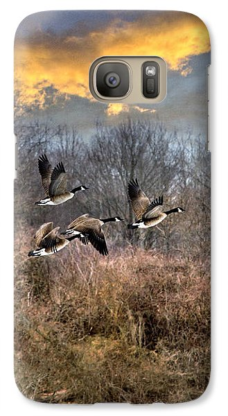 Sunset Geese Galaxy S7 Case
