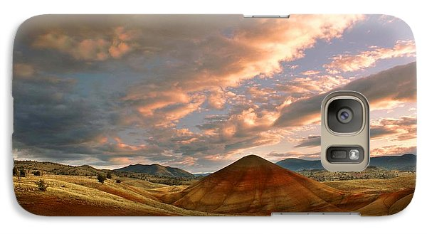 Galaxy Case featuring the photograph Sunset Hill by Sonya Lang