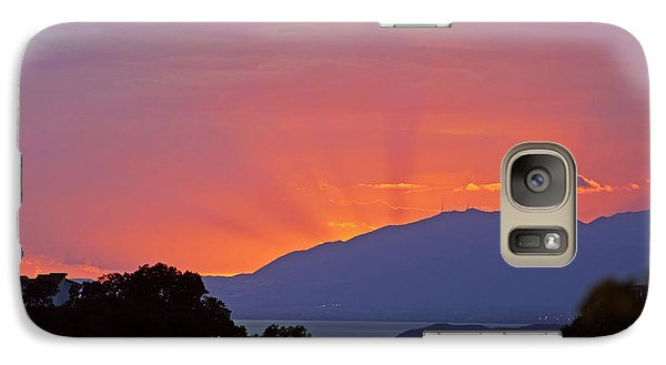 Galaxy Case featuring the photograph Sunset In Andalucia by Rod Jones