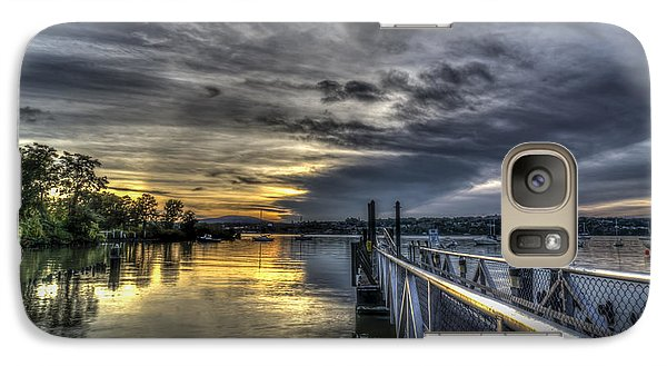 Galaxy Case featuring the photograph Sunset In Beacon Ny by Rafael Quirindongo