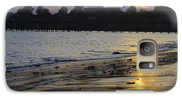 Galaxy Case featuring the photograph Sunset In Capitola by Alex King