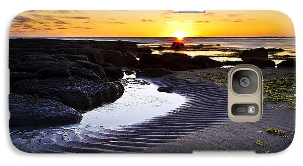 Galaxy Case featuring the photograph Sunset In Iceland by Gunnar Orn Arnason