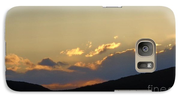 Galaxy Case featuring the photograph Sunset In June by Christina Verdgeline