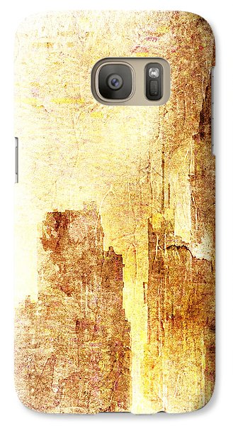 Galaxy Case featuring the digital art Sunset In Nyc by Andrea Barbieri