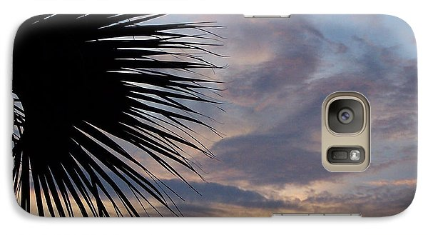 Galaxy Case featuring the photograph Sunset In Pastel by Peg Urban
