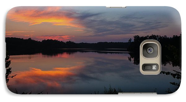 Galaxy Case featuring the photograph Sunset In Pastels by Geri Glavis