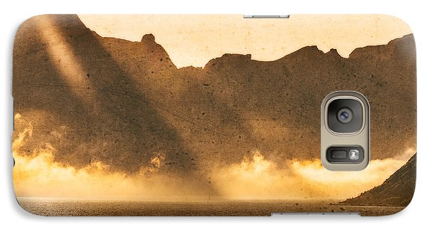 Galaxy Case featuring the photograph Sunset In The Arctic  by Maciej Markiewicz