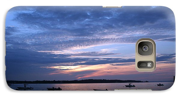 Galaxy Case featuring the photograph Sunset by Karen Silvestri