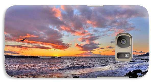 Galaxy Case featuring the photograph Sunset by Kathy King