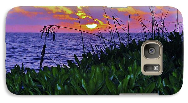 Galaxy Case featuring the photograph Sunset  by Kicking Bear  Productions