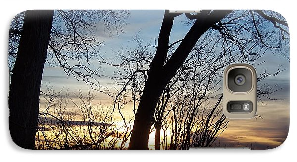 Galaxy Case featuring the photograph Sunset 1 by Larry Campbell