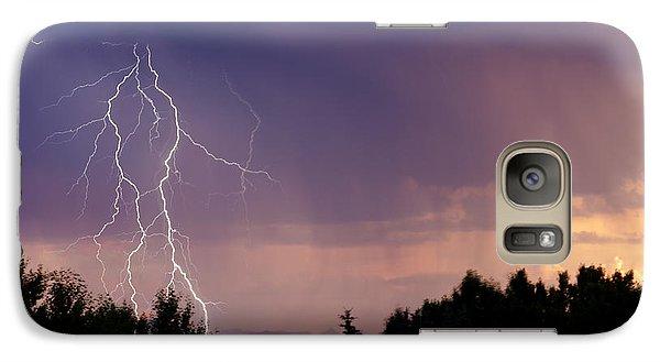 Sunset Lightning Galaxy S7 Case
