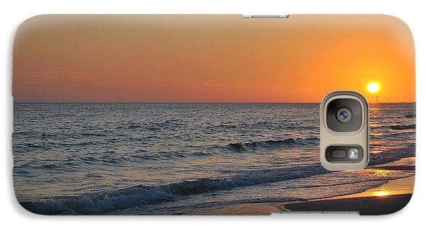 Galaxy Case featuring the photograph Sunset Love by Michele Kaiser