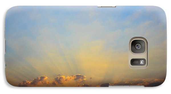 Galaxy Case featuring the photograph Sunset by Mohamed Elkhamisy