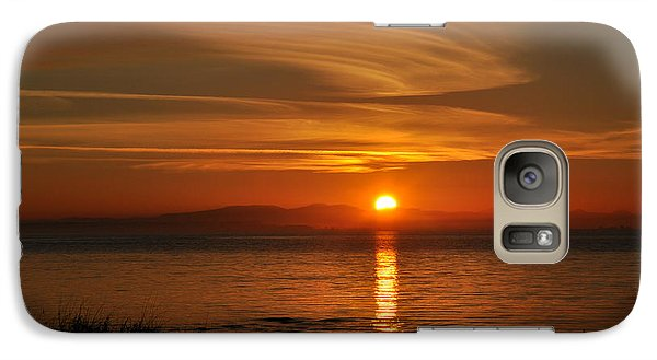 Galaxy Case featuring the photograph Sunset Mood by Sabine Edrissi