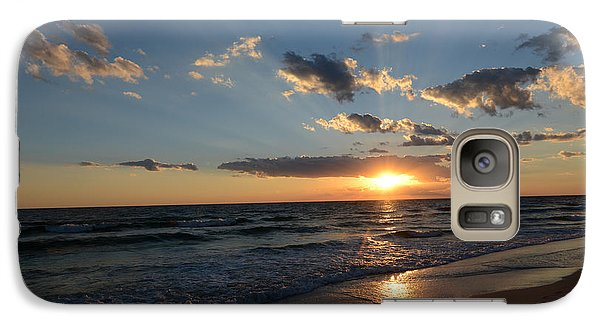 Galaxy Case featuring the photograph Sunset On Alys Beach by Julia Wilcox